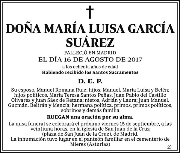 María Luisa García Suárez